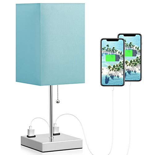 Table Lamp with Outlet Charging ...