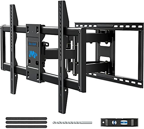 """Mounting Dream TV Wall Mount TV Bracket for 42-84 Inch TVs, Universal Full Motion TV Mount with Articulating Arms, Max VESA 800x400mm 132 lbs. Loading, Easy to Install on 16"""", 18"""", 24"""" Studs MD2298-XL"""