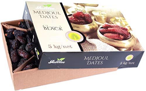 GALILEE Medjoul XXL Natur Datteln unbehandelt cremig & weich *100% Naturdatteln ohne Zusätze (5 Kg) ERNTE 2020
