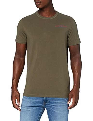 Pepe Jeans Ramon Camiseta, 736Range, XL para Hombre
