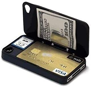 iLid MK-1 World's Thinnest iPhone 4 and 4s Wallet Case Cover- Black
