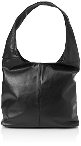 Bags4Less Damen Rubin Schultertasche, Schwarz (Schwarz), 13x39x39 cm