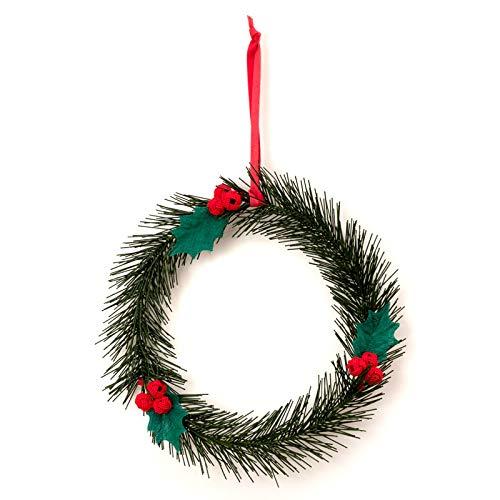 中川政七商店水引でつくったクリスマスリース長野県の工芸品Christmas wreath