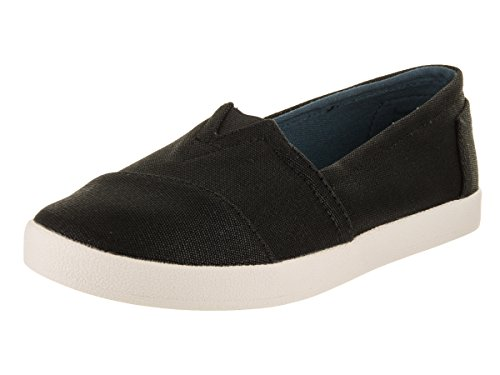 TOMS Damen Women Avalon Espadrilles, Schwarz (Black Coated Canvas 000), 38 EU