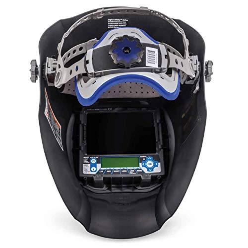 Miller 280045 Black Digital Infinity Series Welding Helmet with Clear