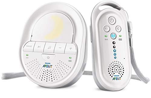 Philips Avent SCD506/01 Babyphone DECT Blanc, Smart Eco Mode