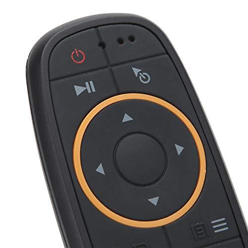 Jopwkuin Ratón con Control Remoto por Voz, Control Remoto de Larga Distancia Ratón con Control Remoto por Voz inalámbrico para televisores para Pantalla para Plataforma Android.