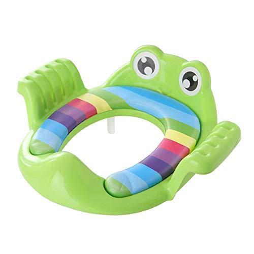 XIAOZHENT Vasino per Bambini Poltrona per Il Bagno per Bambini Scaletta Regolabile Pieghevole Pieghevole Pieghevole Toilette Seduta per Bambini Portatile Urinale (Color : 09)