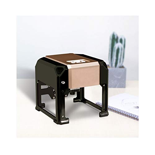 Máquina de Grabado con láser de Escritorio, máquina de Marcado láser pequeño de 3000 MW, Rango de Grabado láser 80 × 80 cm Pulgadas, Soporte Win XP / 7/8/10 Conexión