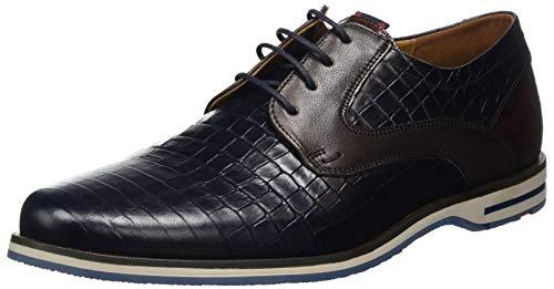 LLOYD Herren Delano Uniform-Schuh, Navy/T.D.Moro/Marrone, 42.5 EU