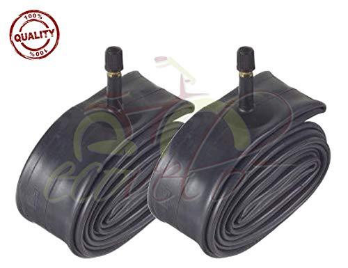ECA20AMD - Par de cámaras de aire 20 x 1,75/1,90/2,125 con válvula Schrader americana para bicicleta de montaña, BMX, niño