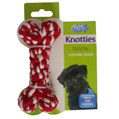 Knotties hondenspeelgoed Knotty Puppy bot hondenspeelgoed, Small, gesorteerd