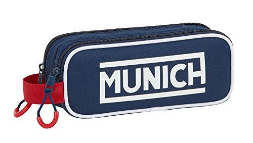 Safta 812074513 Munich Portatodo, Color Oscuro/Azul, 210x60x80 mm (M513)
