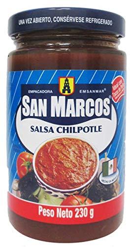 SALSA DE CHILE CHIPOTLE SAN MARCOS 230gr