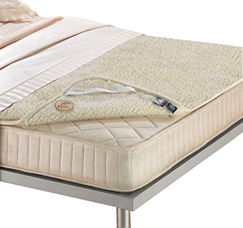 Lana & Co Funda de colchón PRIME pura lana merino virgen. doble