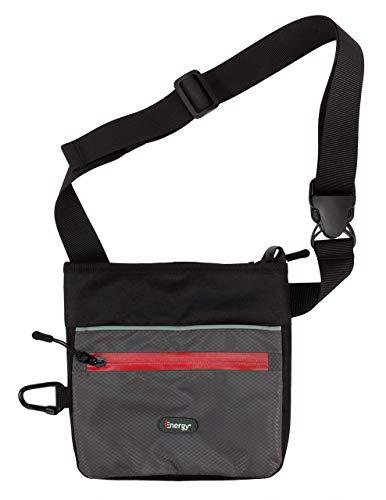 iEnergy ELI Gürteltasche für das Hundetraining - Hüfttasche, Schultertasche, Leckerli-Beutel mit Magnetverschluss- Bauchtasche für Hundebesitzer und Pferdebesitzer