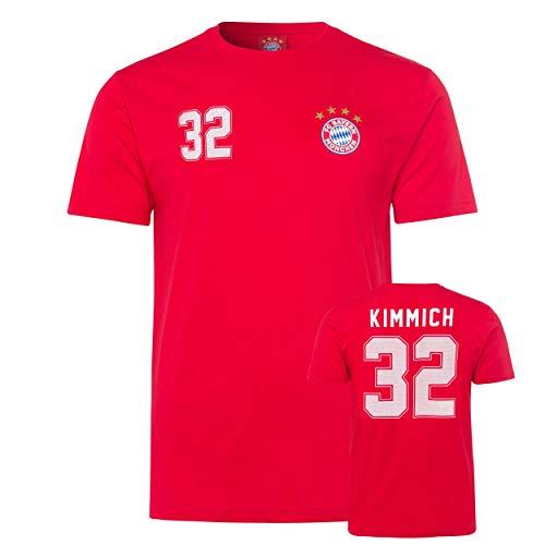 Unbekannt Bayern München kompatibel T-Shirt Kimmich + Sticker München Forever, Tshirt, Shirt (XXL)