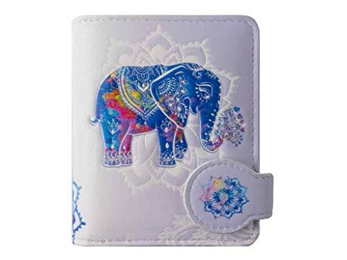 Geldbörse Elefant lila - bb-Klostermann 51211 - Geldbeutel Portemonnaie