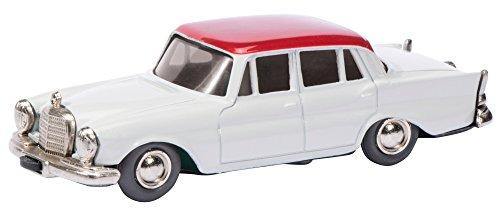 Schuco 450115100 - Mercedes Benz 220SE Heckflosse Micro Racer 1038, Miniaturmodelle