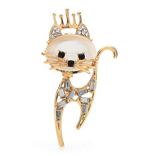 GLKHM Elegante Moda Broches Broches De Gato Pernos De Broche Unisex De Animales Mascotas