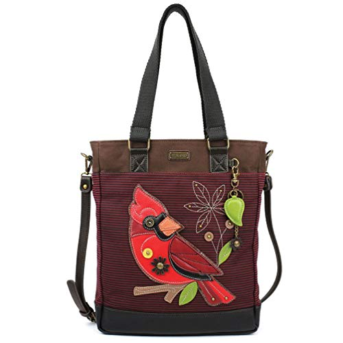 Cardinals Chala Striped Work Tote