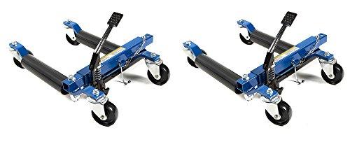 Capri Tools 21085-2PK 21085 Hydraulic Car Positioning 12' Tire Jack/Dolly (2 Pack)