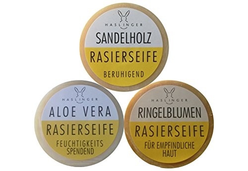 Haslinger 3er Set Haslinger Rasierseife, Sandelholz Bild
