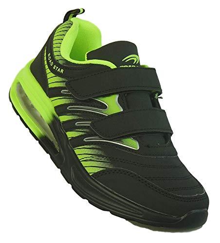 Bootsland 304 Damen Herren Klett Sportschuhe Sneaker Turnschuhe Freizeit, Schuhgröße:45