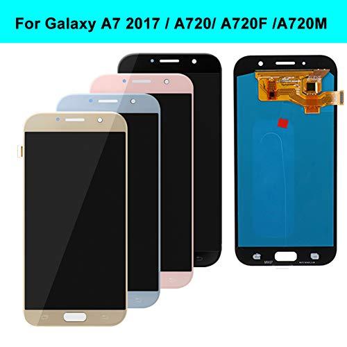 zNLIgHT Pantalla LCD de Repuesto para Samsung Galaxy A7 2017 A720 A720F A720M