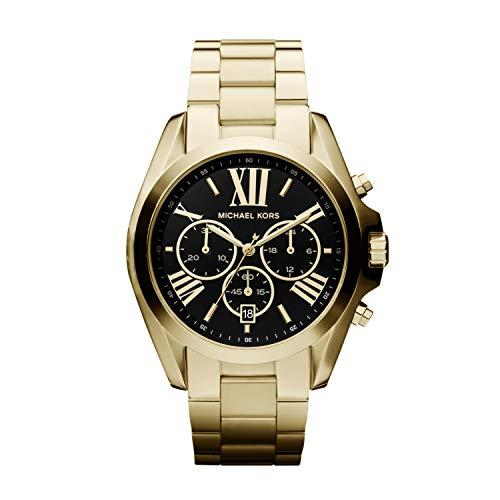 Michael Kors Reloj Cronógrafo para Mujer de Cuarzo con Correa en Acero Inoxidable MK5739