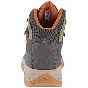 Columbia Women's Newton Ridge Plus Waterproof Hiking Boot Shoe, Hiker Green/Caramel, 9