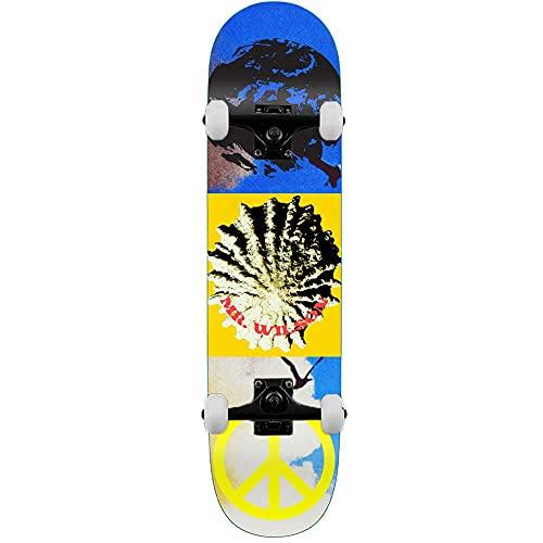 Quasi Wilson Aquarius - Skateboard completo, 20,6 cm