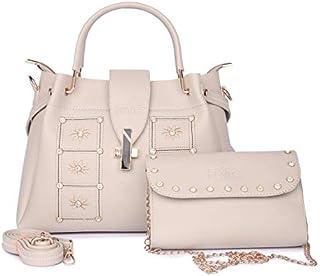 Nevis Satchel Womens Handbags For Office Travel set Of 2