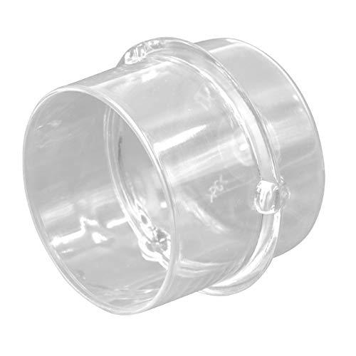 vhbw Messbecher Deckel 100ml kompatibel mit Vorwerk Thermomix TM21, TM31, TM3300 Küchenmaschine - Lebensmittelecht, Spülmaschinenfest Mikrowellengeeignet