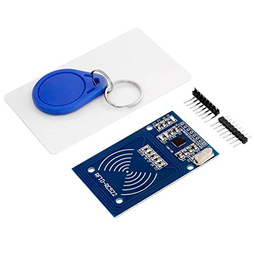 AZDelivery RFID Kit RC522 with Reader, Chip and Card for Arduino and Raspberry Pi including E-Book!