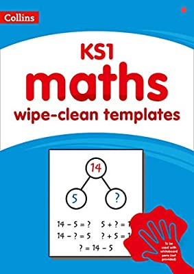 Collins ? KS1 wipe-clean maths templates by Collins