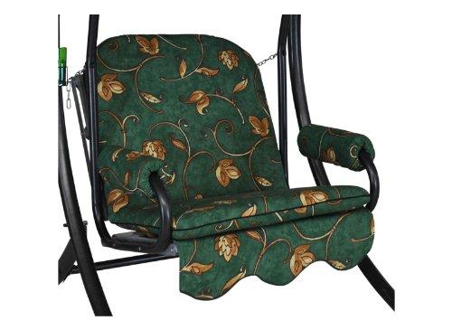 Angerer Single Schaukelauflage 1-Sitzer Design Mainz, grün, 65 x 50 x 60 cm, 1017/180