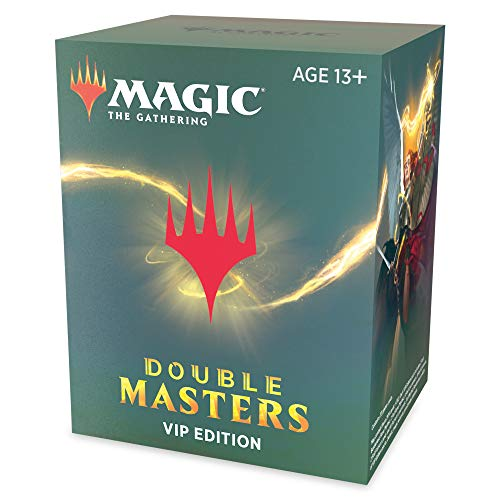 Magic: The Gathering Double Masters VIP Edition | 33 Cards (23 Foils) | 4 Rares or Mythics