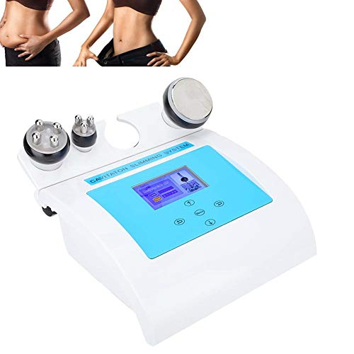 Aparato de masaje anticelulitis, máquina de adelgazamiento, 3 en 1 40 KHz por ultrasonido cavitación producto de belleza aparato de adelgazamiento máquina de adelgazamiento de alta frecuencia