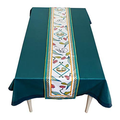 Tafelloper, tafelvlag, tv-kast, salontafel, doek, slaapkamer, bed, staart, vlag, dressoir, lange tafelvlag