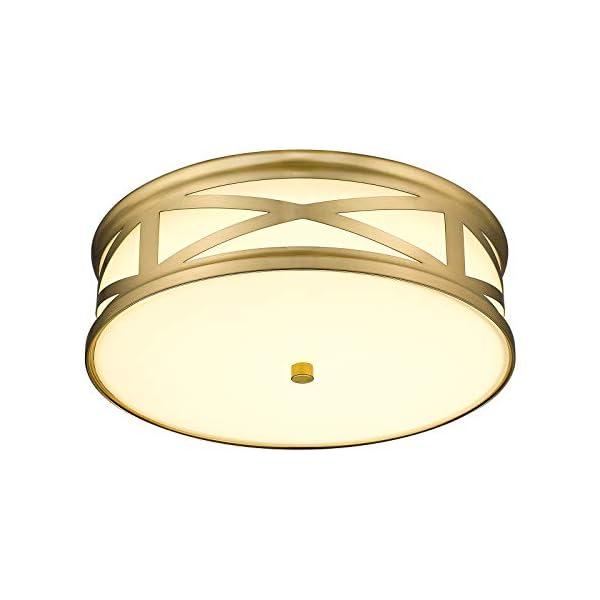 CALDION 12 Inch Dimmable Flush Mount LED Ceiling Light Fixture, 16W 1100 Lumens, 3000K/4000K/5000K Adjustable Ceiling…