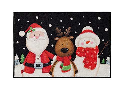 Natco Holiday Christmas Season Accent Kitchen Rug 20 x 30 Inches (Winterland Buddies)