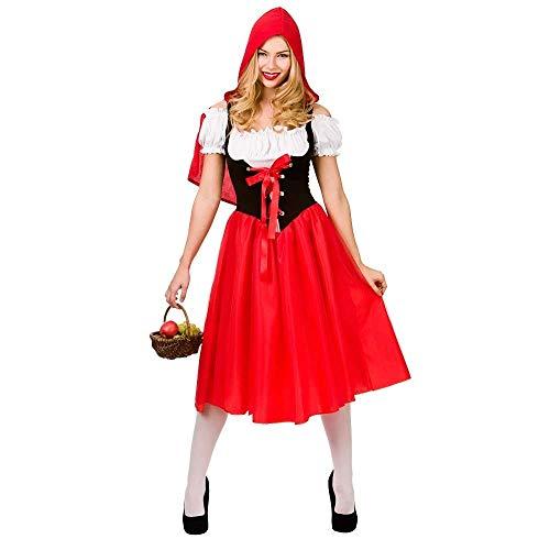 Little Red Riding Hood Retro Fairytale Costume. Size XXL