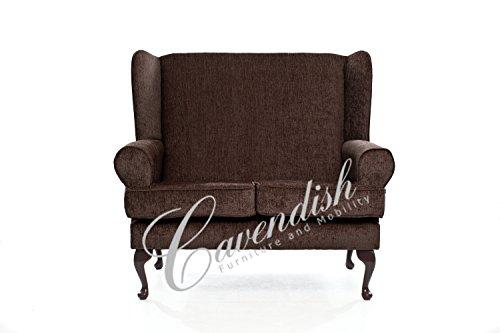 Cavendish Furniture ortopédico de Asiento de Deep de 2plazas sofá, Color marrón