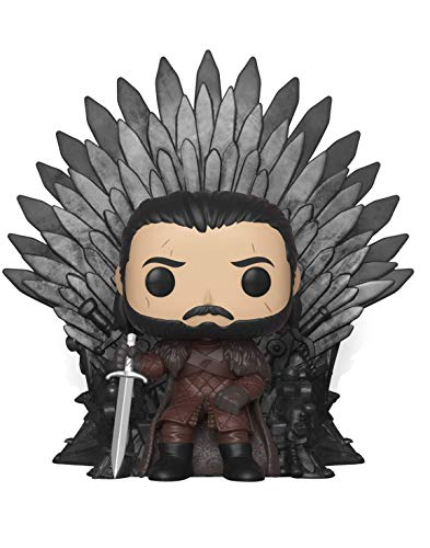 Pop! Deluxe: Game of Thrones S10: Jon Snow Sitting on Iron Throne