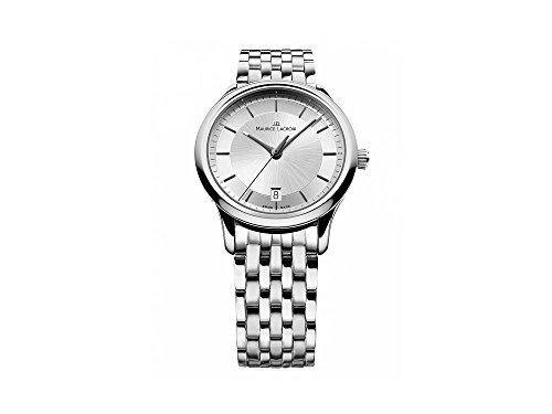 Reloj de cuarzo Maurice Lacroix Les Classiques, Plata, 38mm, LC1237-SS002-131-1