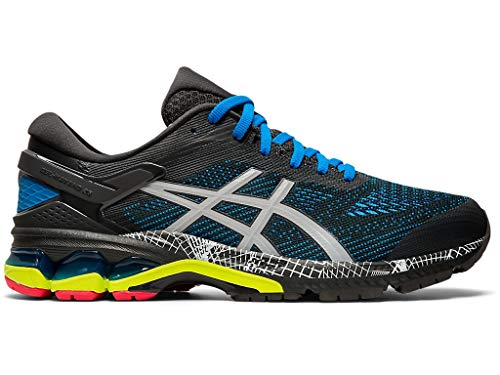 ASICS Men's Gel-Kayano 26 Hyper-Flash Running Shoes, Graphite Grey/Piedmont Grey, 14 M US
