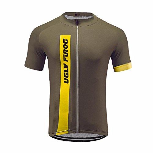 Uglyfrog Rennrad Trikots & Shirts Herren Radsport Bekleidung Sommer Fahrradtrikot Kurzarm für Herren Cycling Jersey Radtrikot T Shirt Radsport