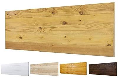 Color: Pino. Medidas: 160 cm de largo y 60 cm de ancho. Para camas de 145 cm , 150 cm 🌲LOS MATERIALES DE NUESTROS PRODUCTOS 🌲: Nuestros productos son fabricados con madera nueva maciza de pino de 1ª calidad. 🌲DECORACIÓN INIGUALABLE🌲: Con los palets p...