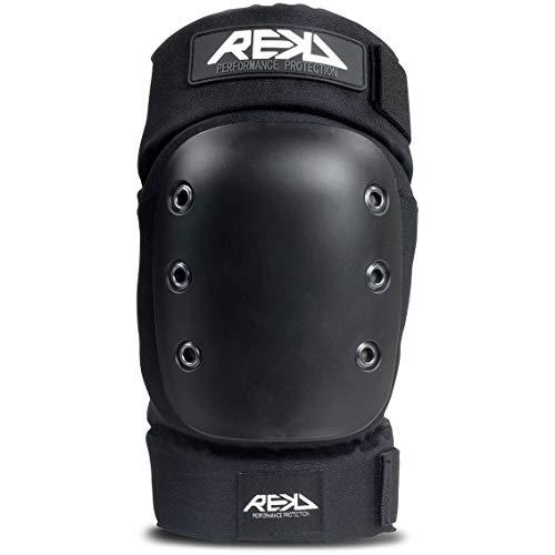 Rekd Pro Ramp Knee Pads Rodilleras Skateboard, Adultos Unisex, Negro (Black), S ⭐